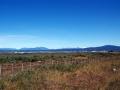 Fahrt nach Puerto Natales tollem Panorama auf die Anden