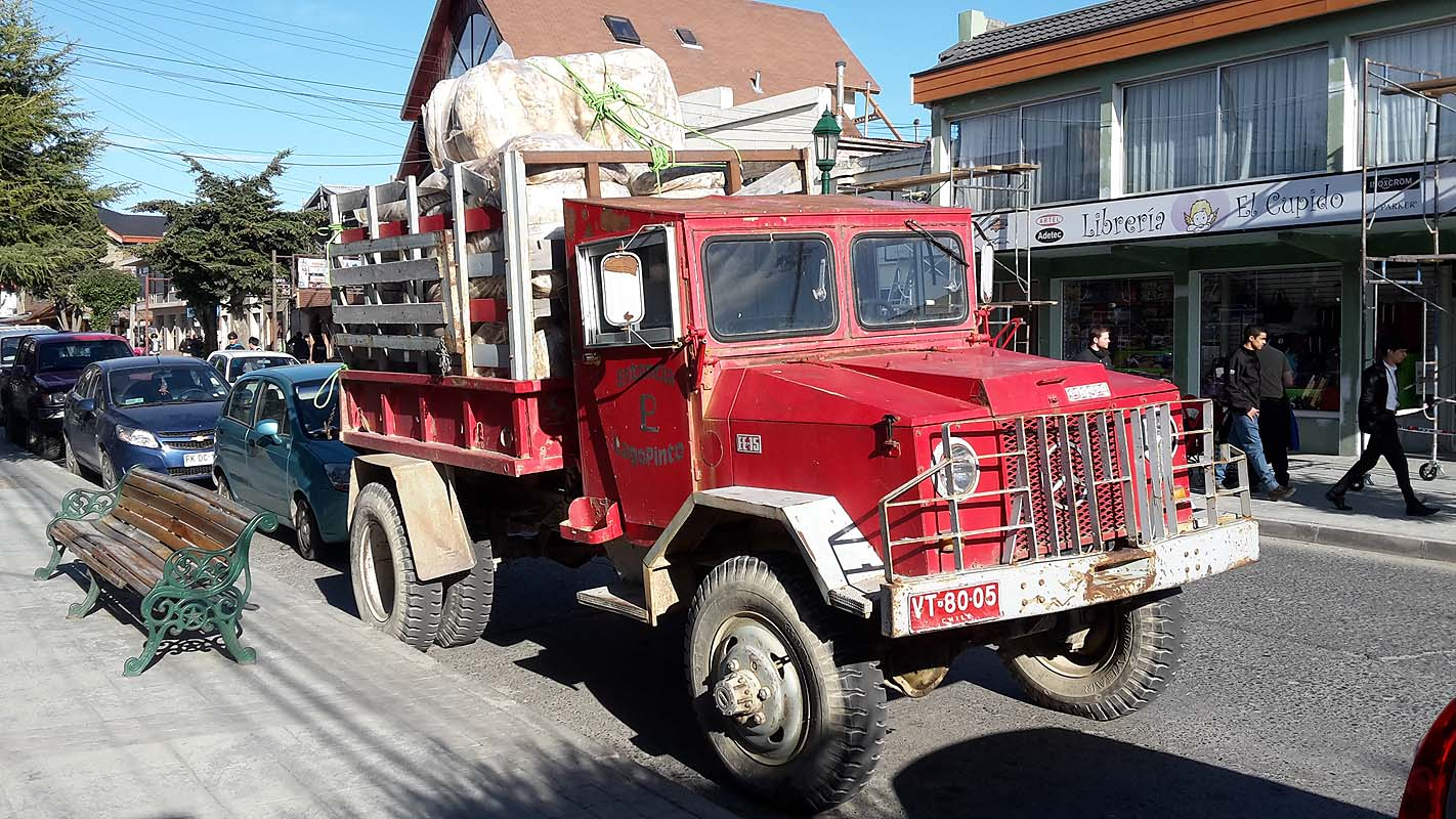 Es fährt und fährt (in Puerto Natales)