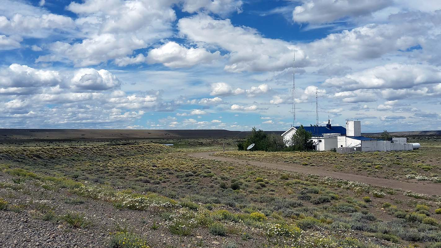 Mitten im Nichts: Eine einsame Polizeistation