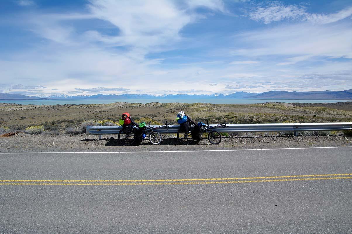 Superschöne Strecke zwischen El Calafate und El Chalten