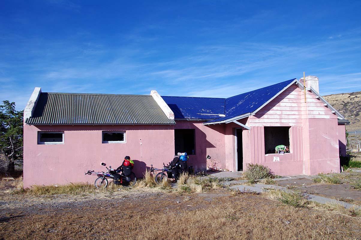 DAS pinke Haus für Radreisende