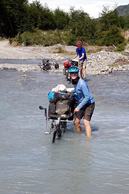 Wandertag: Mit Flußdurchquerungen inklusive, bei über 20 Grad und Sonne