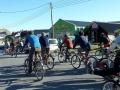 """""""Demonstration"""" von Radlern in El Chalten"""