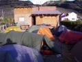 Garten im Casa de Ciclista in El Chalten