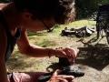 Nach über 9 Monaten erste Auflösungserscheinungen an den Schuhen