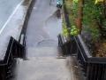 Fahrradweg mit Treppen??!?