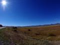 Geniales Fahrradwetter mit gigantischen Panorama
