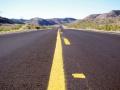 Oft leere Straßen in Utah