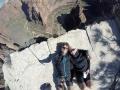 Tolle Ausblicke im Zion NP vom Angels Landing