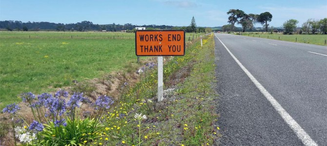 Works End – NZ´s Northland done