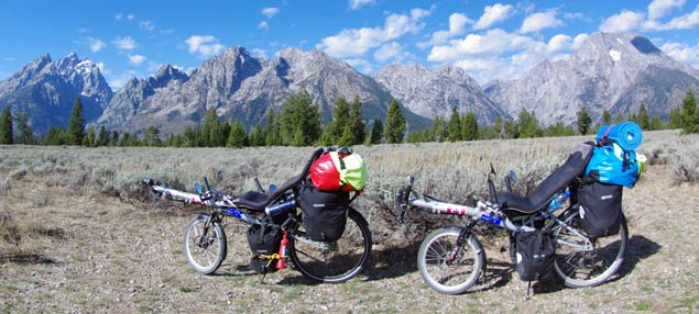 USA – Rocky Mountains via Liegerad