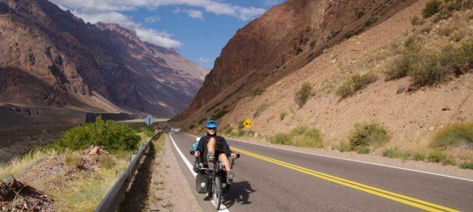 Chiles und Argentiniens Anden